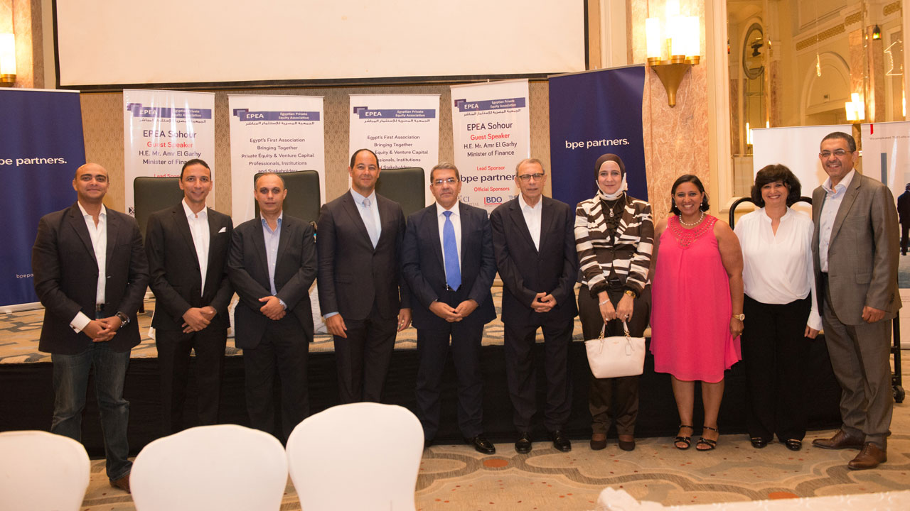 EPEA Sohour welcoming His  Excellency Mr. Amr El Garhy – Minister of Finance